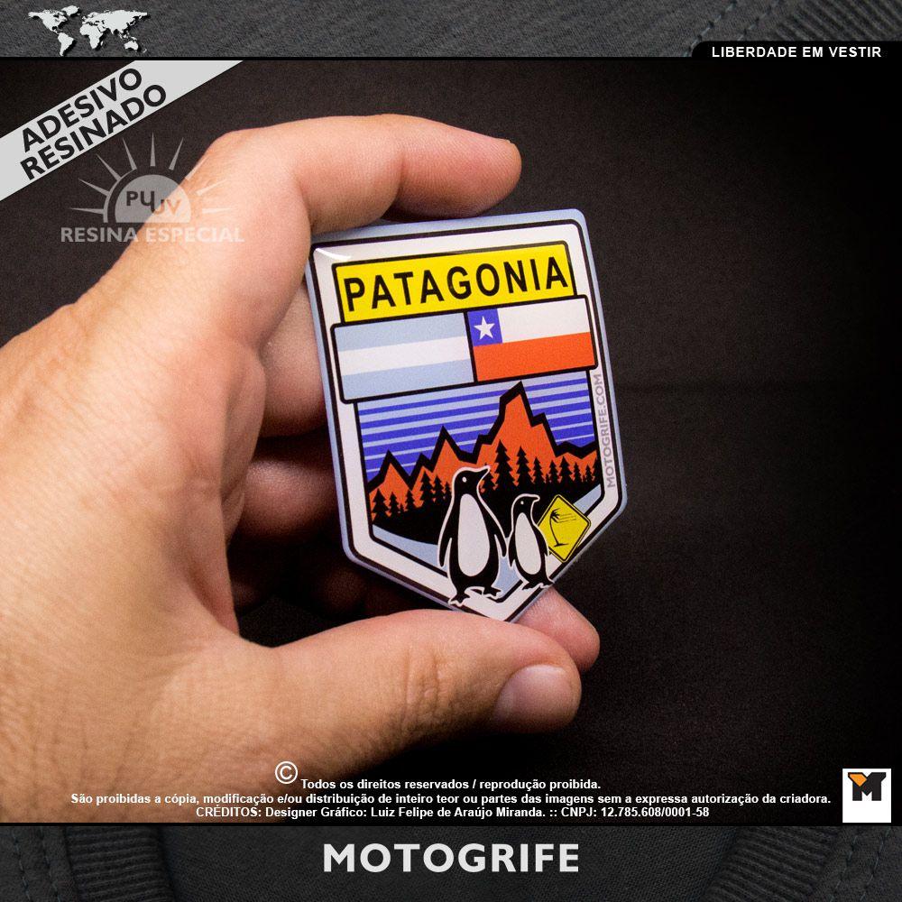 Patagonia adesivo resinado PU