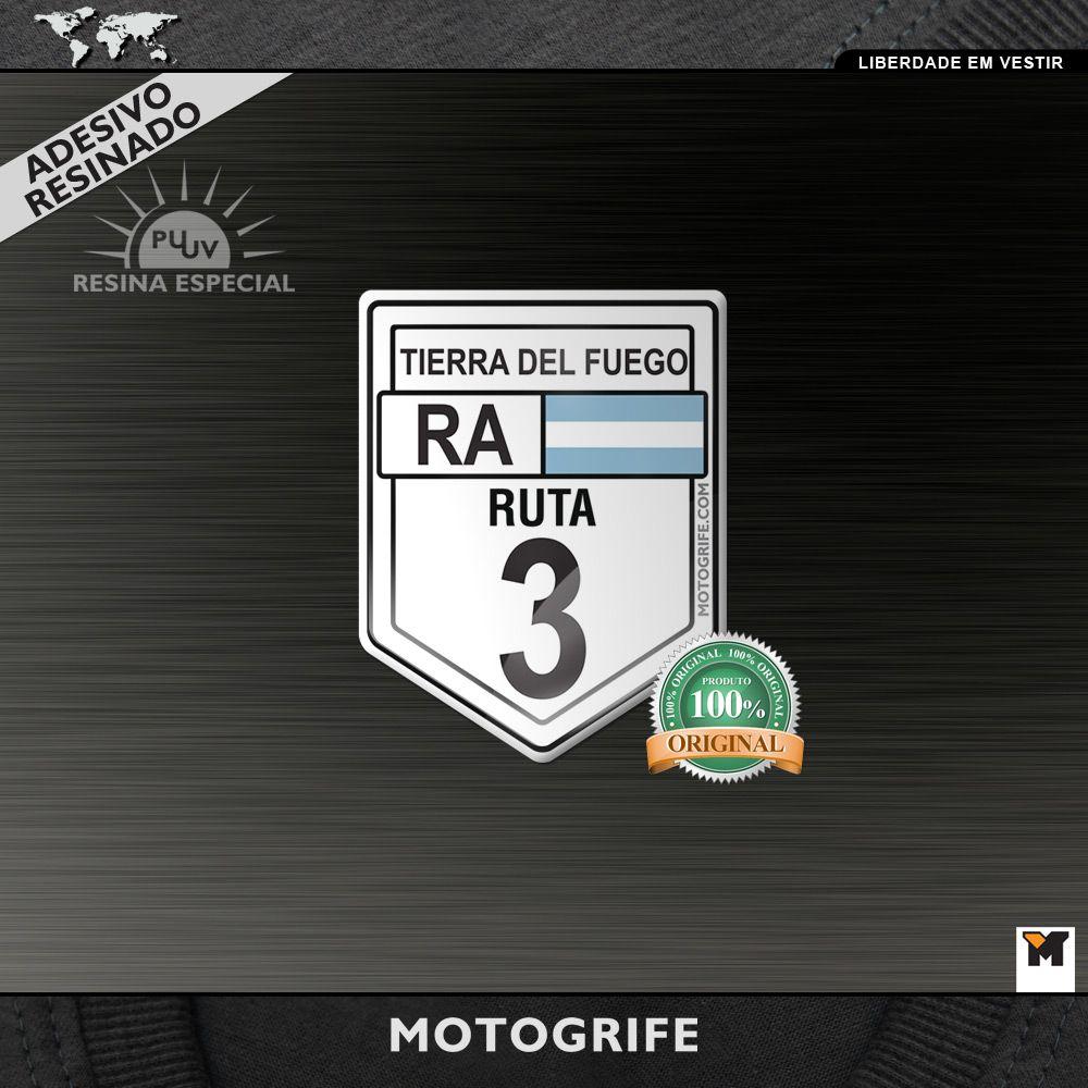 Ruta 3 Argentina Adesivo Resinado PU