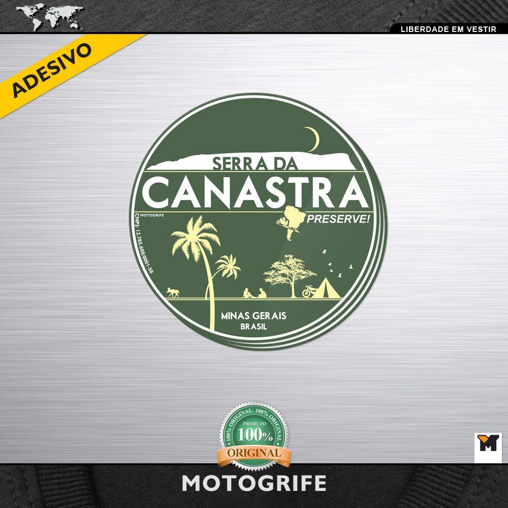 Serra da Canastra - kit com 3 unidades de adesivos - *frete grátis