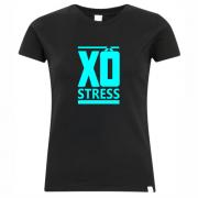 Camiseta Xô stress feminina – preta