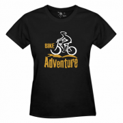Camiseta: Bike Adventure ciclista – feminina