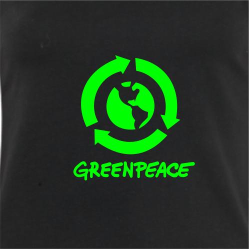 ... Camiseta feminina natureza  Logo Greenpeace – cores opcionais - Portal  Marcas 63b0f0daa2b2e