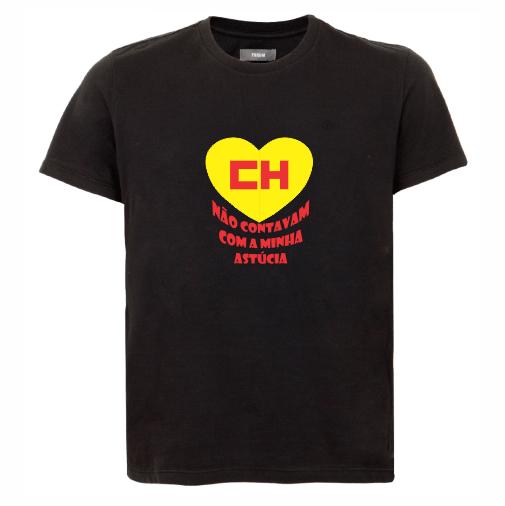 d8e1b5bb5 Camiseta do Chapulín colorado  não contavam com minha astúcia masculina –  preta - Portal Marcas ...