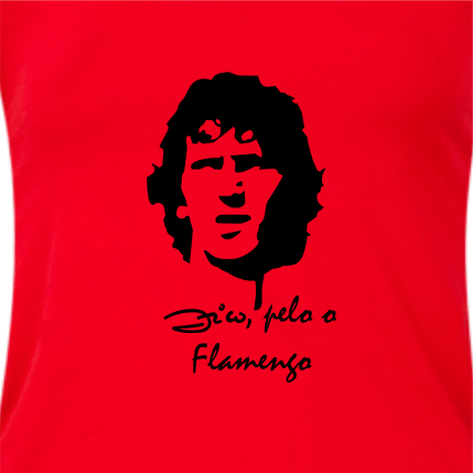 ... Camiseta masculina futebol  Zico 46f3c5f31914d