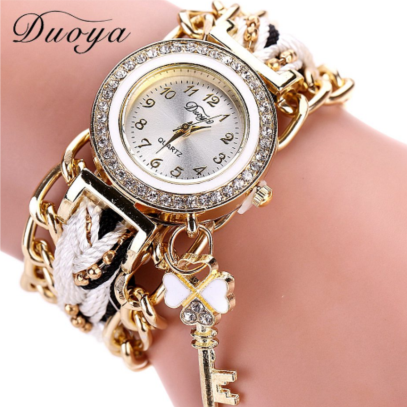 20e81504da0 Relógio Pulseira feminino Chave Branco Analógico - O jeito certo de ...