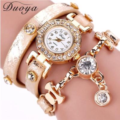 30883838b66 Relógio pulseira feminino pedra preciosa - O jeito certo de vestir.