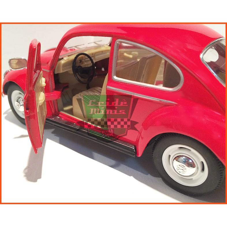 Fusca Sedan 1967 1300 Vermelho - escala 1/24