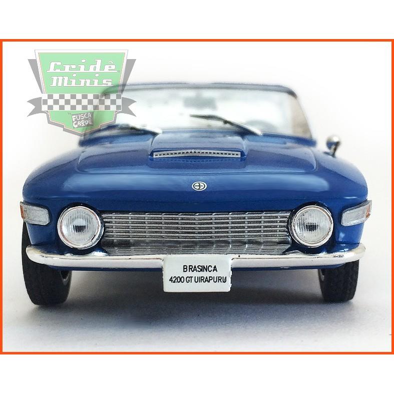 Brasinca 4200 GT Uirapuru 1964 - Carros Nacionais - escala 1/43