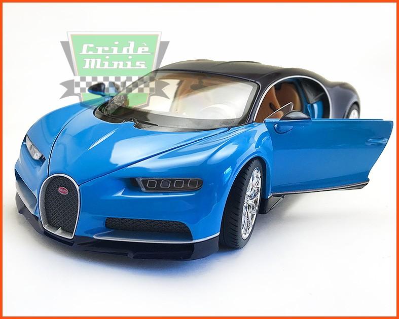 Bugatti Chiron 2017 - escala 1/24