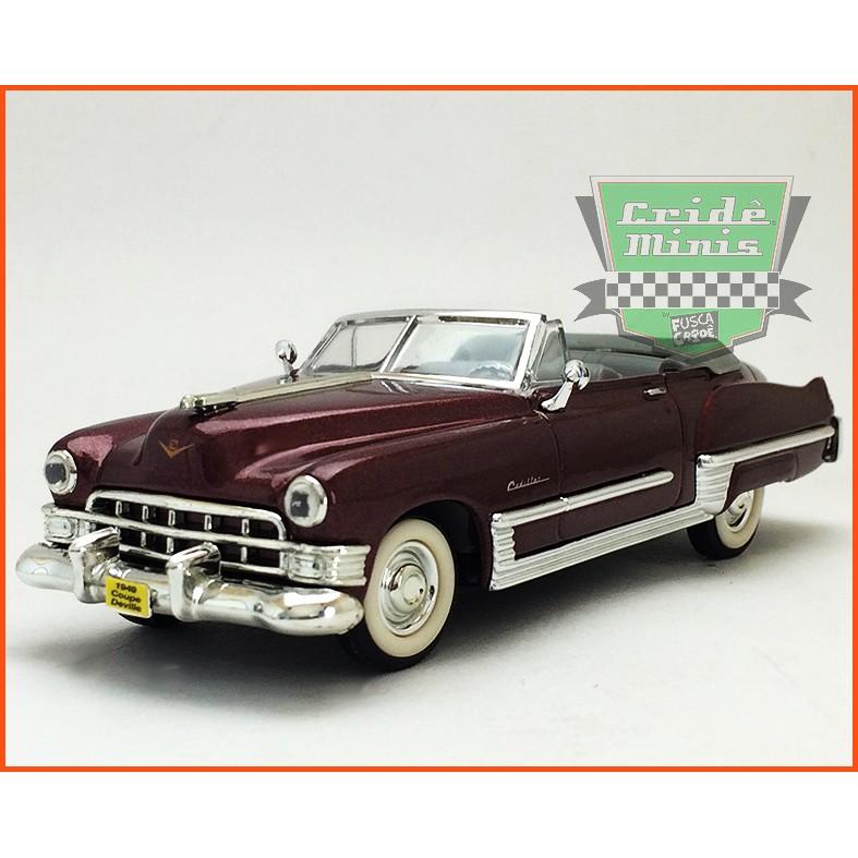 Cadillac Coupe de Ville 1949 - Escala 1/43 - Caixa de acrílico