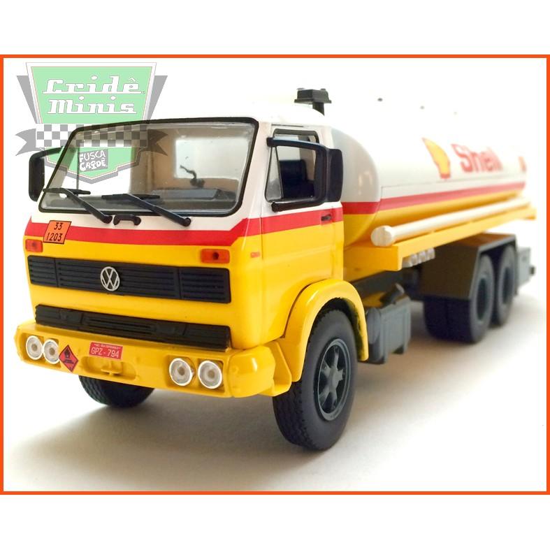 Caminhão da SHELL Combustível - VW13-130 1981 - escala 1/43