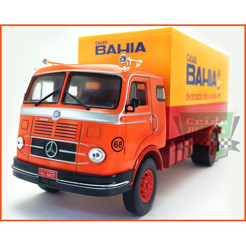 Caminhão das Casas Bahia Mercedes Benz LP331 1960 - escala 1/43