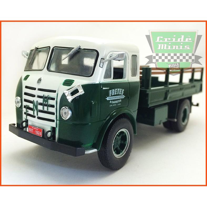 Caminhão FNM FRETES 1950 - escala 1/43