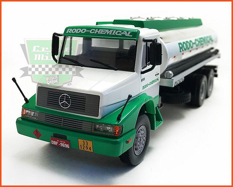 Caminhão Tanque Mercedes 1620 - escala 1/43