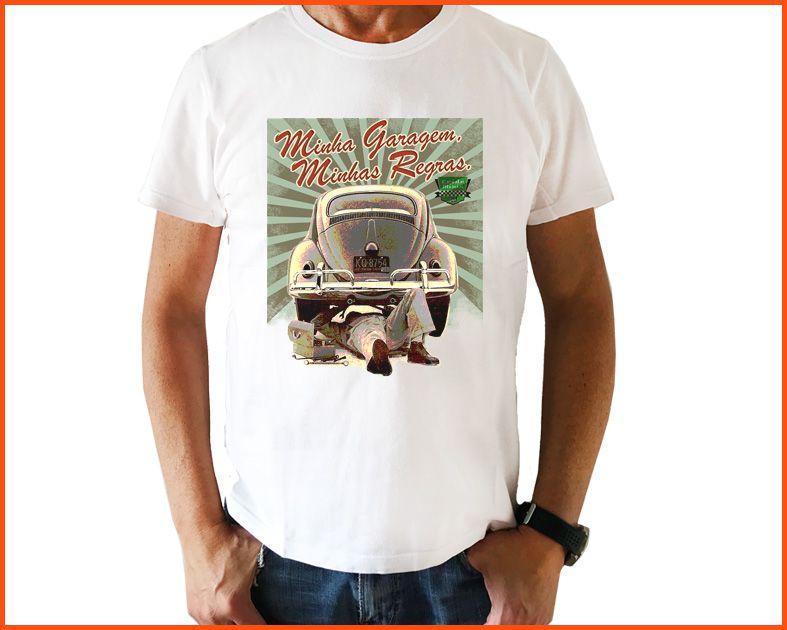 Camiseta Crideminis Minha garagem, minhas regras!