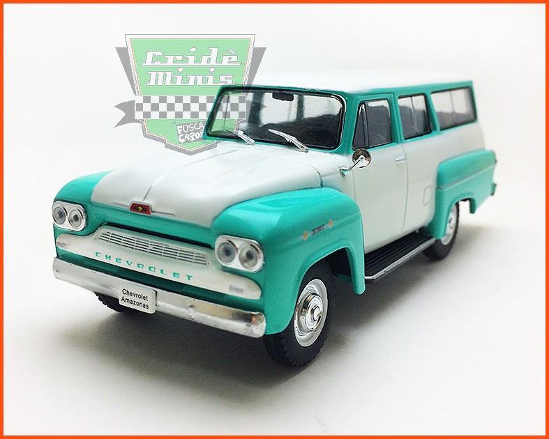 Chevrolet Amazonas 1963 - Carros Nacionais - escala 1/43