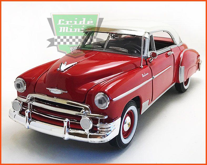 Chevrolet Belair 1950 Vermelho - Escala 1/24