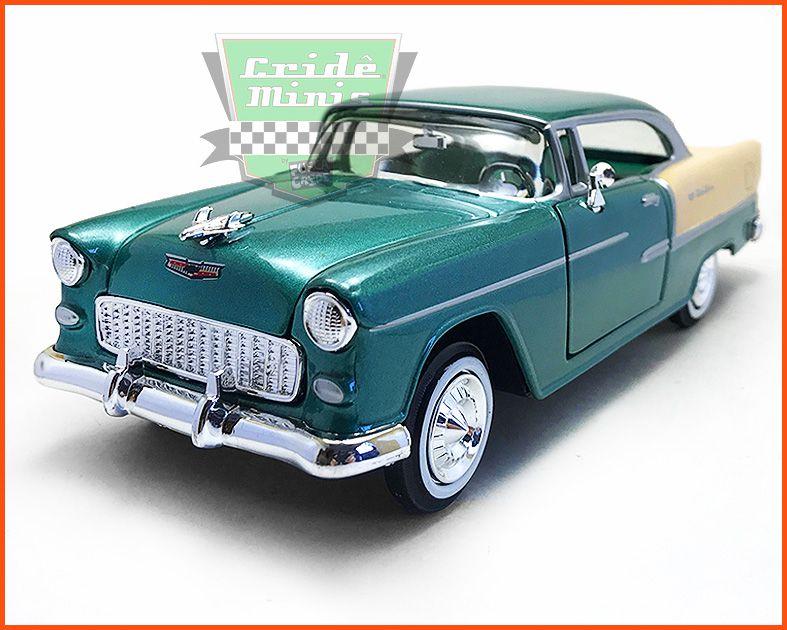 Chevrolet Belair 1955 monocromático - Escala 1/24