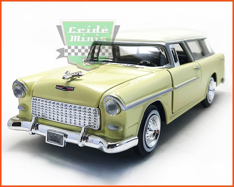 Chevrolet Belair Nomad 1955 - Escala 1/24