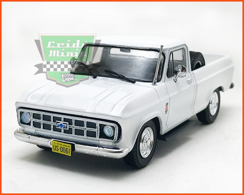 Chevrolet C-10 1980 - Carros Nacionais - escala 1/43