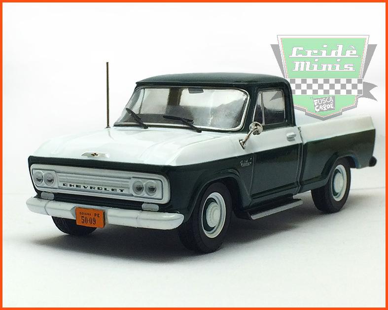 Chevrolet C-14 1964 - Carros Nacionais - escala 1/43