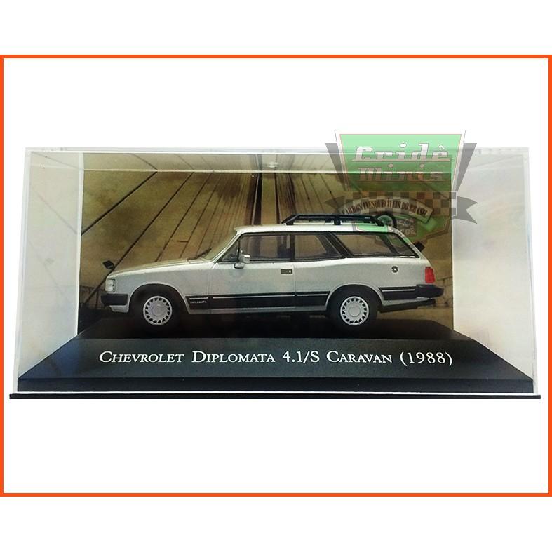 Chevrolet Caravan Diplomata 4.1 1988 - Carros Nacionais - escala 1/43