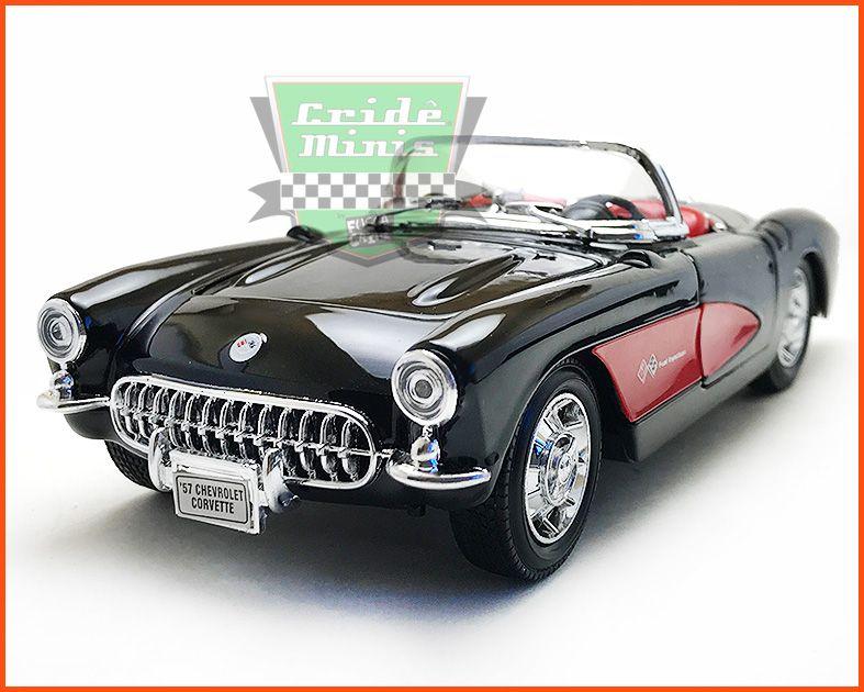 Chevrolet Corvette Classico 1957 - escala 1/24