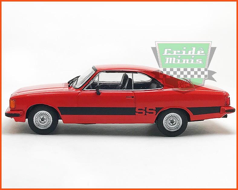 Chevrolet Opala SS 1980 - Carros Nacionais - escala 1/43