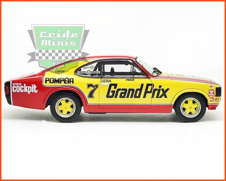 Chevrolet Opala Stock Car #7 1980 - Ingo Hoffman - escala 1/43