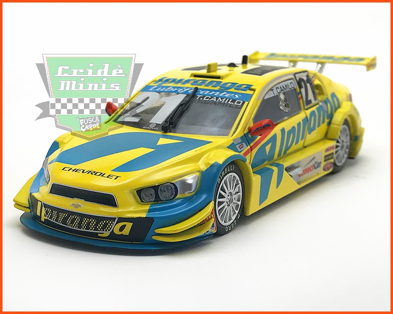 Chevrolet Stock Car #21 2015 - Thiago Camilo - escala 1/43