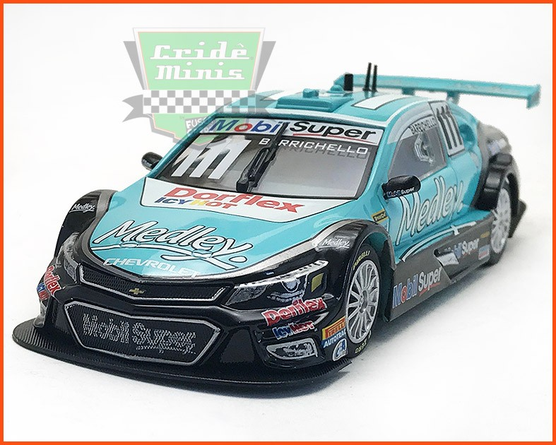 Chevrolet Stock Car #111 2016 - Rubens Barrichello - escala 1/43