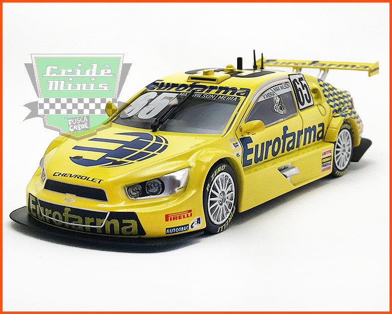 Chevrolet Stock Car #65 2016 - Max Wilson - escala 1/43