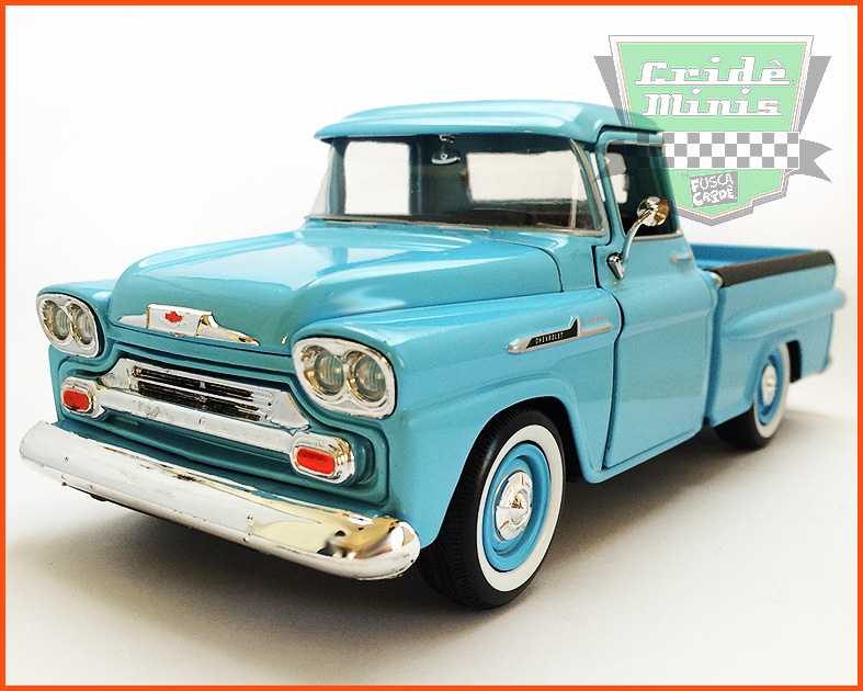 Chevy Apache Fleetside Pick-up 1958 - escala 1/24
