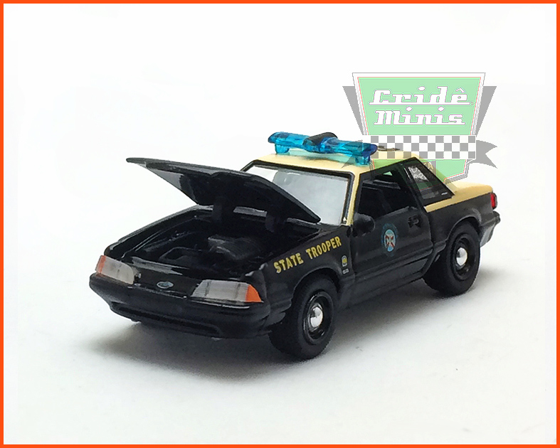 Diorama Hot Pursuit Florida Highway Patrol - escala 1/64