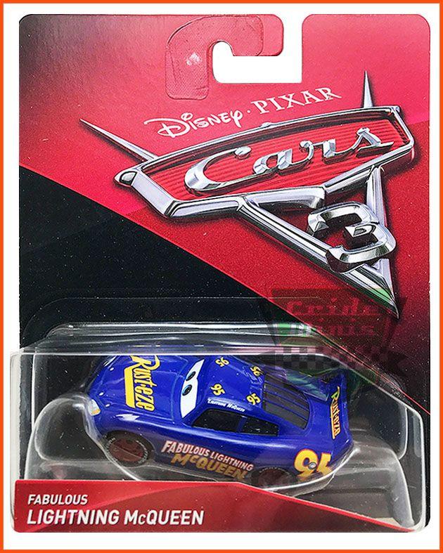 Disney Car 3 Lightning McQueen Azul #95