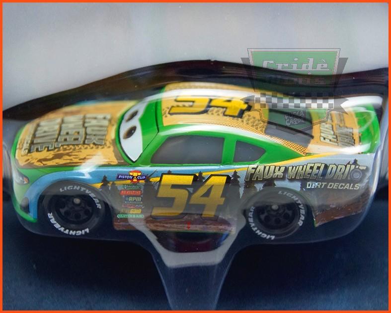 Disney Car 3 Tommy Highbanks #54