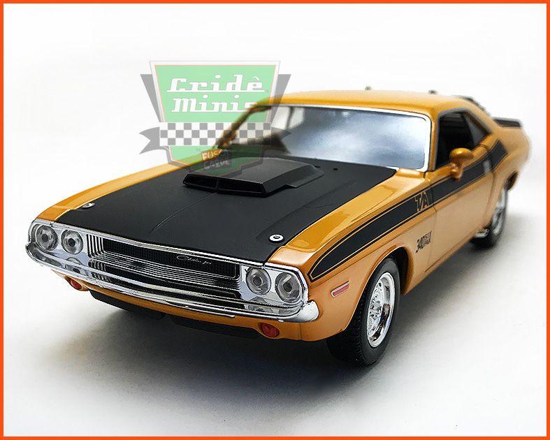 Dodge Challenger 1970 Orange - escala 1/24