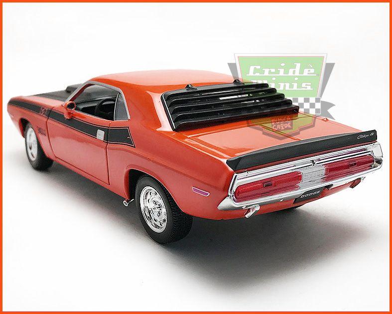 Dodge Challenger 1970 Red - escala 1/24
