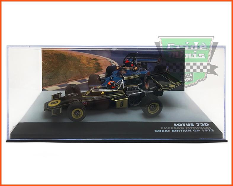 Emerson Fittipaldi - Lotus 72D 1972 - escala 1/43