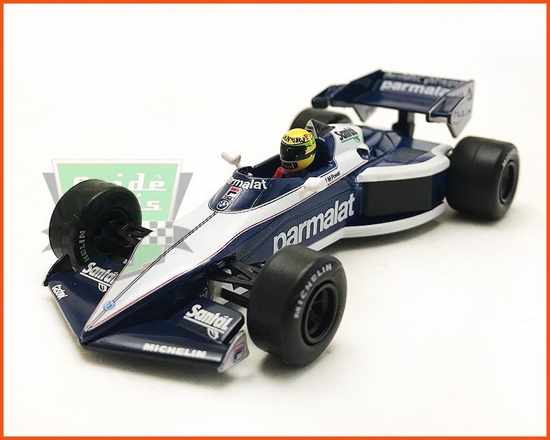 F1 Ayrton Senna - Brabham BT52B Test 1983 - escala 1/43