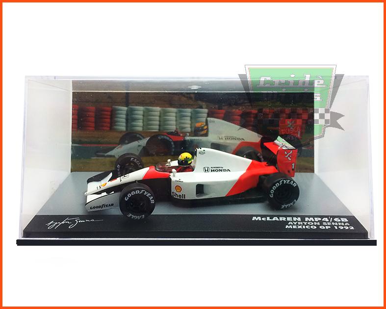 F1 Ayrton Senna - McLaren MP4/6B 1992 - escala 1/43