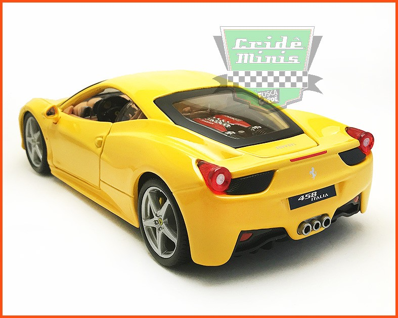 Ferrari 458 - escala 1/24