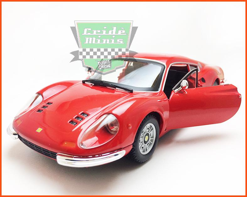 Ferrari Dino 246 GT - escala 1/24