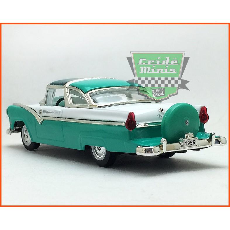 Ford Crown Victoria 1955 - Caixa de acrílico - escala 1/43