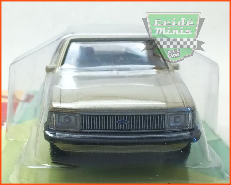 Ford Del Rey 1982 - Carros Nacionais - escala 1/43