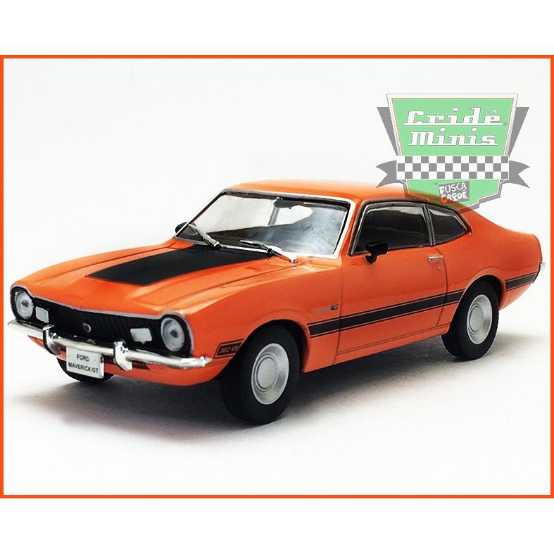 Ford Maverick GT 1974  - Carros Nacionais - escala 1/43