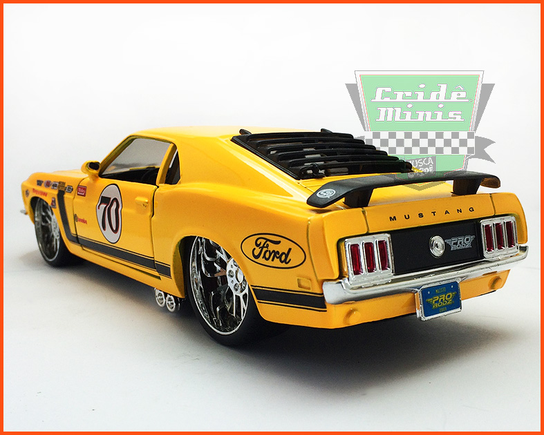 Ford Mustang Boss 302 Tunning 1970 - escala 1/24