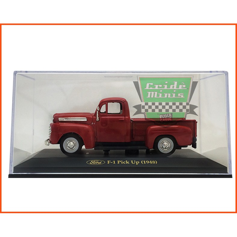 Ford Pick-up F-1 1948 - Caixa de acrílico - escala 1/43