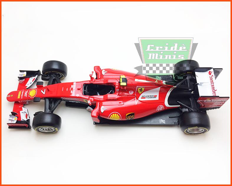 Fórmula 1 Ferrari SF15-T #7 - escala 1/24