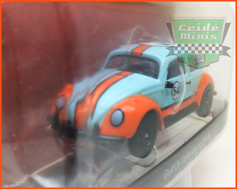Fusca Race Gulf Oil #54 - escala 1/64